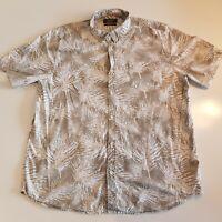 Primark Men's Size XL Regular Fit Short Sleeve Shirt Button Down Collared- HM32