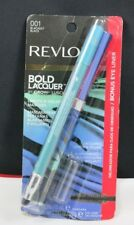 New Revlon Bold Lacquer Grow Luscious Volume Mascara + Revlon Eyeliner-001 Black