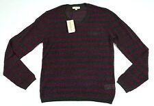 Burberry London Viscose Silk Light Crewneck Sweater M 100% Authentic BNWT $595