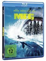 MEG [Blu-ray/NEU/OVP] Tierhorror um einen riesenhaften Hai mit Jason Statham,
