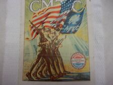 Antique Poster Ww1 Citizen's Military Training Camps by J.Wharton