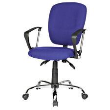 RS Soho Atlas office home operators chair blue fabric