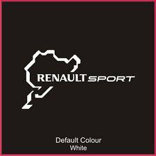 Renaultsport Nurburgring Race Circuit Decal, Track,Vinyl, Sticker,Graphics N2019