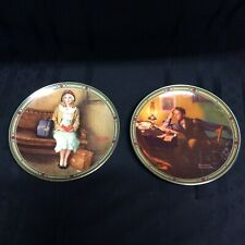 Vintage Norman Rockwell's American Dream China Plates ( i 4 )
