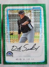 2011 Bowman Chrome Green Xfractor Rob Schill Colorado Rockies #BCP204