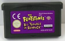 Nintendo Game Boy Advance GBA-the Flintstones BIC Trouble + The Lion King