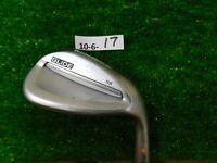 "Ping Glide 2.0 56* 12* Sand Wedge SS Standard Stiff Steel Orange 2.25* Flat +1"""