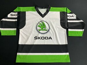Skoda Ice Hockey Jersey Men's Size L Eishockey Shirt IIHF WM Hockey League #93