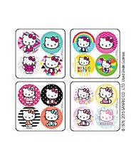 48 Hello Kitty Girly Dot Reward Stickers Party Favors Teacher Supply Sanrio
