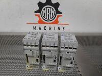 Allen Bradley 700-CF400D* Ser A Contactors 25A 600V 24VDC Coil Used (Lot of 3)