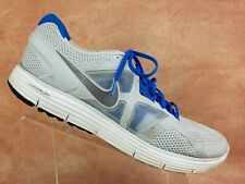 Nike Lunarglide 3 Running Shoe Size 15 Men White Grey Athletic Training Sneaker