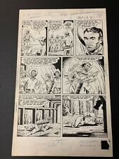 Whiz Comics #137 Golden Arrow Original Artwork