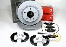 Bmw 3er E46 Zimmermann Bremsscheiben Bremsbeläge Backen Handbremse für hinten*