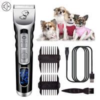 Pro Dog Cat Hair Clipper Pet Hair Trimmer Clippers Hair Shaving Machine