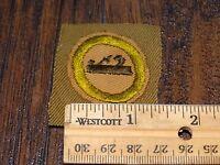 15968/ Vintage Boy Scouts of America Merit Badge ~ BSA CARPENTRY
