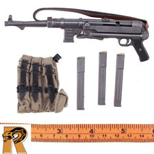 Werner Lehmann - MP40 Machine Gun w/ Pouch & 3 Mags - 1/6 Scale - Dragon Figures