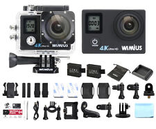 4K Action Camera Wimius 16MP Ultra FHD Dual Screen WiFi Waterproof Sport dv CAM