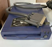 IOMEGA  External  Zip 100 Drive with cables, power supply & ZIP Tools Disk