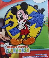 Micky Maus Clubhaus - Mickey Mouse - Bügelflicken / Iron-On Patch - Disney - 9cm