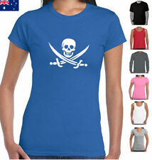 Embellished Tee Skull T-Shirts for Women