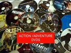 ACTION / ADVENTURE Genuine Movie DVDs  *A-M*  *DISC & Artwork ONLY* YOUR CHOICE!
