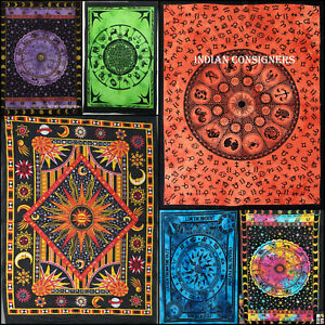 Small Poster Wall Hanging Tapestry Zodiac Sunsign Lot Of 24 Pcs WholeSale Price