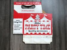 Twin Pines Milky's PARTY TIME Sparkling Beverages 6 pack Milky The Clown !!!