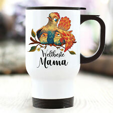Taza Térmica Para Llevar WELTBESTE Mamá Regalo Día de la Madre vogelmama mami