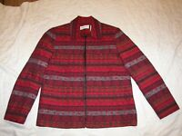 Alfred Dunner Blazer Jacket - Size 8 - Open Front Style