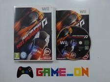 Nintendo Wii Need For Speed Hot Pursuit Jeu Complet ~ GRATUIT P + P