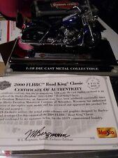 Maisto Avon Harley Davidson 2000 FLHRC Road King Classic Motorcycle Diecast 1:18
