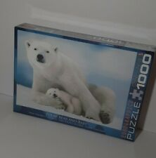 Polar Bear and Baby 1000-Piece Puzzle Eurographics Brand New