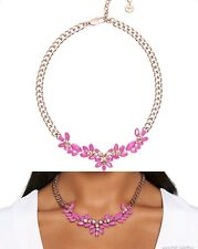 Mimco 💞 Rose Gold Cerise Rock Solid $169 Necklace Choker Brand New + Dust Bag