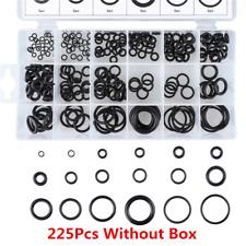 225Pcs 18 Sizes Rubber O Ring O-ring Seal Plumbing Garage Sealing Assort Set Kit