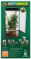 Zoo Med ReptiBreeze Open Air Screen Cage Large 18 x 18 x 36-Inches