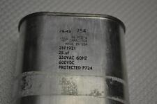 ONE NEW GE 28F1921 330VAC 600VDC 25uf CAPACITOR