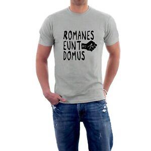 Romanes Eunt Domus Monty Python T-shirt Romans Go Home. Life of Brian Parody Tee