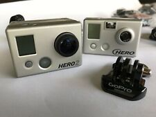 GoPro HD Hero2 and GoPro Hero1 with Accessories and Chesty Mount
