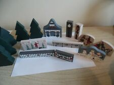 Cat's meow christmas pieces accessories tree sales fence snowmen skaters gazebo