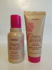 Aveda Cherry Almond Softening Shampoo & Conditioner Set 1.7 oz ~ 50 ml Travel Sz