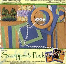 Scrapbook Kit ~ Handmade Papers Scrapper's Pack Road Trip / Vacation #735-6711
