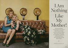 Heather Morris (Glee) 2pg GLAMOUR magazine feature, clippings