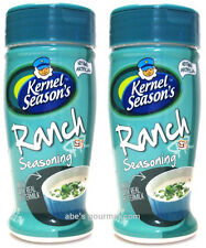 Kernel Season's Ranch Popcorn Seasoning (Pack of 2) 2.7 oz Size