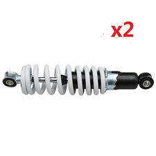 "Pair of 9.8"" 250MM REAR SHOCK ABSORBER SUSPENSION SHOCKER 110cc QUAD Chinese ATV"