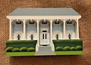 Vintage Key West Florida Wood Model Eyebrow House FOLK ART Naive Primitive Fl