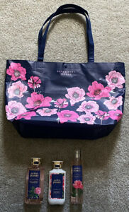 BATH & AND BODY WORKS MOTHER'S DAY TOTE 2020 NEW WITH TAGS - PERFECT PEONY