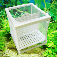 Fish Tank Fry Breeding Breeder Plastic Frame Hatchery Incubator Isolation Net