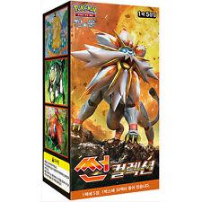 Pokemon Cards Game SUN & MOON 150 Cards SUN Collection Booster Box / Korean Ver.