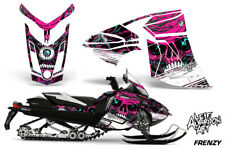Ski-Doo Rev XR Decal Graphic Kit Sled Snowmobile Sticker Wrap 2013+ FRENZY PINK