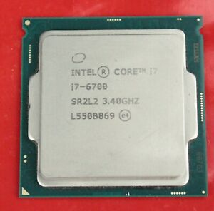 Intel Core i7-6700 3.4 GHz CPU Processor SR2L2 EL1541